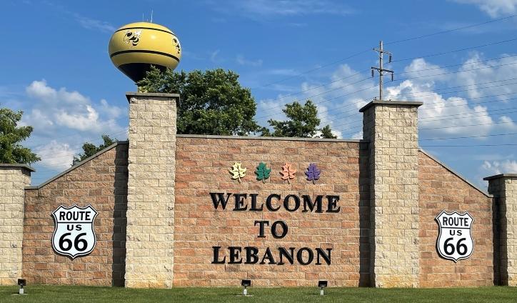 Welcome to Lebanon Sign